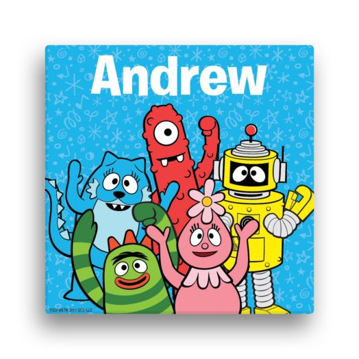 Yo Gabba Gabba Wave 12 x 12 Canvas Wall Art