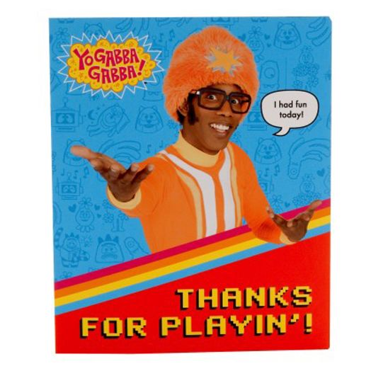 Yo Gabba Gabba Thank You Notes - 8 Count