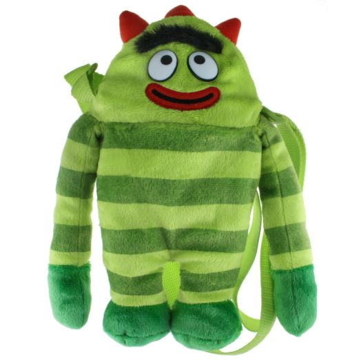 Yo Gabba Gabba Brobee 3D Plush Backpack