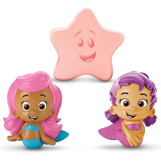 Bubble Guppies Bath Squirters - Molly, Oona & Starfish