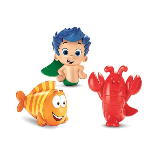 Bubble Guppies Bath Squirters - Gil, Mr Grouper & Lobster
