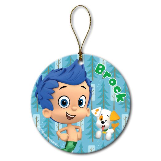 Bubble Guppies Gil and Bubble Puppy Ornament