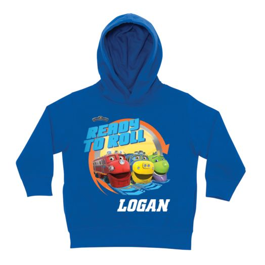 Chuggington Ready to Roll Royal Blue Toddler Hoodie