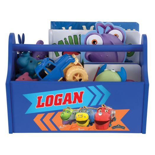 Chuggington Trainees Royal Blue Toy Caddy