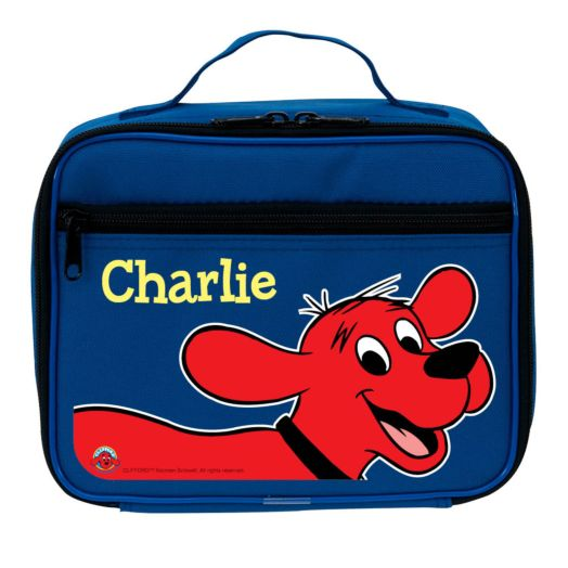 Clifford Lunch This Way! Blue Lunch Bag