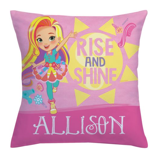 Sunny Day Rise and Shine Throw Pillow