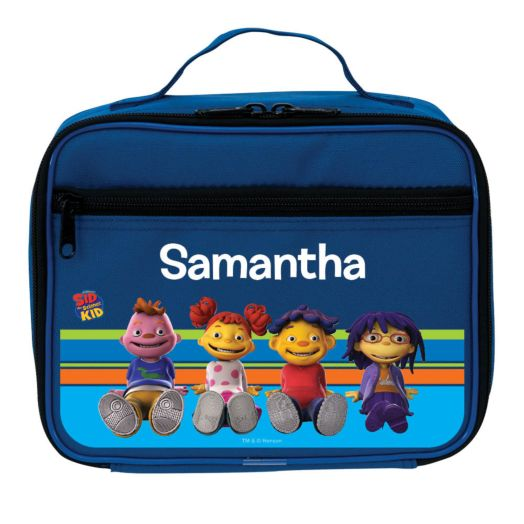 Sid the Science Kid in Stripes Blue Lunch Bag