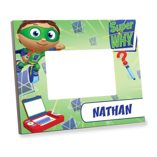 Super Why Ready Set Zap! Picture Frame