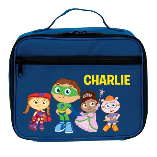 Super Why Calling All Super Readers Blue Lunch Bag