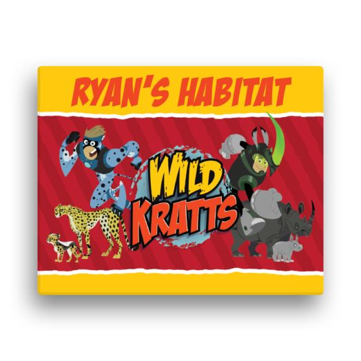 Wild Kratts Creature Power 11 x 14 Canvas Wall Art