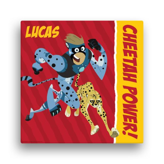 Wild Kratts Cheetah Power 16 x16 Canvas Wall Art