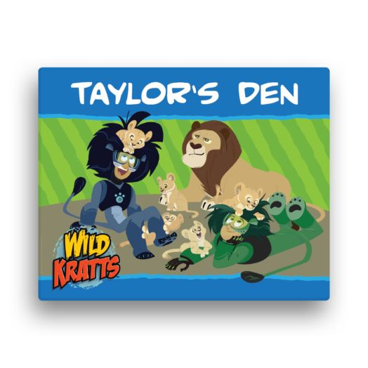 Wild Kratts Lion Around 16 x 20 Canvas Wall Art